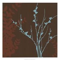 "Blue Bough I by June Erica Vess - 22"" x 22"""