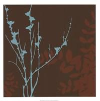 "Blue Bough II by June Erica Vess - 22"" x 22"""