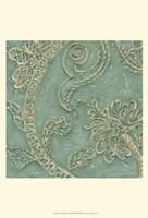 Printed Tiffany Lace I Framed Print