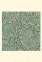 Printed Tiffany Lace III Framed Print