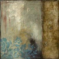 Teal Patina III by Jennifer Goldberger - various sizes