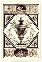 Sepia Pergolesi Urn I Fine Art Print