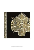 "Small Regal Adornments I by Chariklia Zarris - 13"" x 19"" - $12.99"