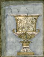 Small Urn And Damask I by Jennifer Goldberger - various sizes