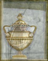 Small Urn And Damask II by Jennifer Goldberger - various sizes