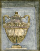 Small Urn And Damask III by Jennifer Goldberger - various sizes