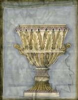 Small Urn And Damask IV by Jennifer Goldberger - various sizes