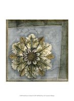 "Small Rosette and Damask I by Jennifer Goldberger - 10"" x 13"" - $10.49"