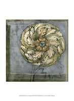 "Small Rosette and Damask III by Jennifer Goldberger - 10"" x 13"" - $10.49"