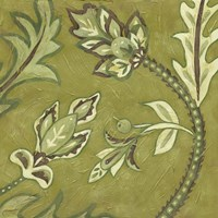 Medium Pistachio Paisley I by Chariklia Zarris - various sizes - $16.99