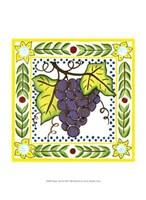 "Rustic Tile II by Chariklia Zarris - 10"" x 13"""