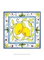 "Rustic Tile III by Chariklia Zarris - 10"" x 13"""