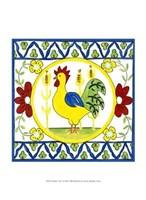 "Rustic Tile V by Chariklia Zarris - 10"" x 13"""