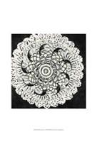 "Mini Abstract Rosette I by Chariklia Zarris - 13"" x 19"""