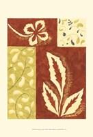 Festive Floral I Framed Print