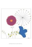 Playful Blooms IV Framed Print