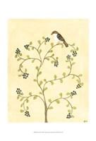 "Berry Bird II by Virginia a. Roper - 13"" x 19"""