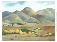 "Mini Western Vista V by Chariklia Zarris - 13"" x 10"""