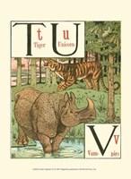 Noah's Alphabet VI Fine Art Print
