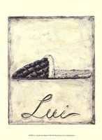 Lui- French Cozy Slipper Fine Art Print