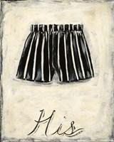 His- French Silk Fine Art Print