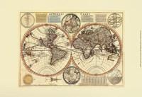 "19"" x 13"" World Maps"