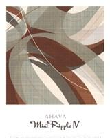 "Mint Ripple IV by John James Audubon - 10"" x 12"""