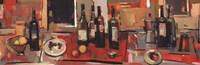 """Vin Rouge Panel by Jay Li - 36"""" x 12"""" - $14.49"""