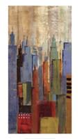 Towerscape I Framed Print