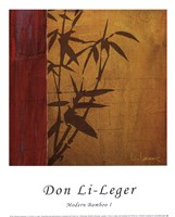 "Modern Bamboo I by Don Li-Leger - 10"" x 12"""