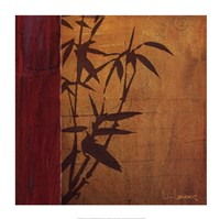 Modern Bamboo I Framed Print