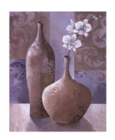 """Silver Orchids I by Keith Mallett - 10"""" x 12"""""""