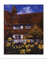 Cottage Of Delights III Fine Art Print