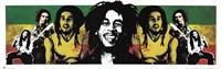 Bob Marley Rastaman Wall Poster