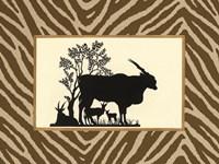 Serengeti Silhouette I Fine Art Print