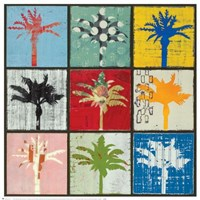 Palm Variations I Framed Print