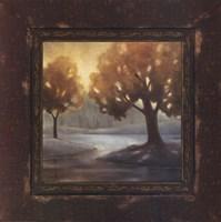 Rustic Landscape II Framed Print