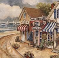 """Ocean Village II by Charlene Winter Olson - 12"""" x 12"""""""