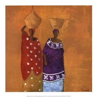 Colorful Dresses Fine Art Print