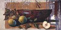 """Coupe A Lotus Et Pomme by John James Audubon - 40"""" x 20"""""""