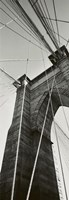 Brooklyn Bridge - East Tower Fine Art Print