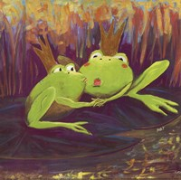 """12"""" x 12"""" Frog Pictures"""