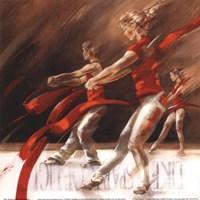 "Dancing Ribbons by John James Audubon - 12"" x 12"""