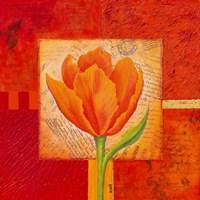 "Carre De Fleur III by John James Audubon - 12"" x 12"""