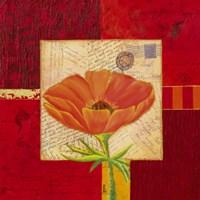 """Carre De Fleur IV by John James Audubon - 12"""" x 12"""""""