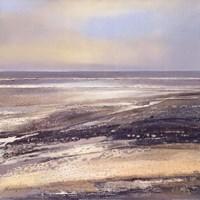 "Mud Flat by John James Audubon - 28"" x 28"""