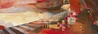 "Railway Landscape by John James Audubon - 38"" x 13"""