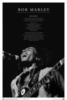 Bob Marley - Iron Lion Zion Wall Poster