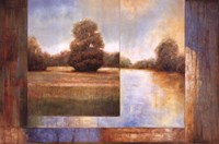 """Secluded Pond II by Enrique Bryant - 36"""" x 24"""""""