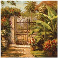 Entrance To The Guesthouse Fine Art Print